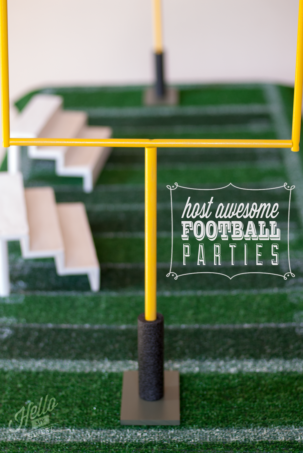 The Essential Football Party Set Hello My Sweet