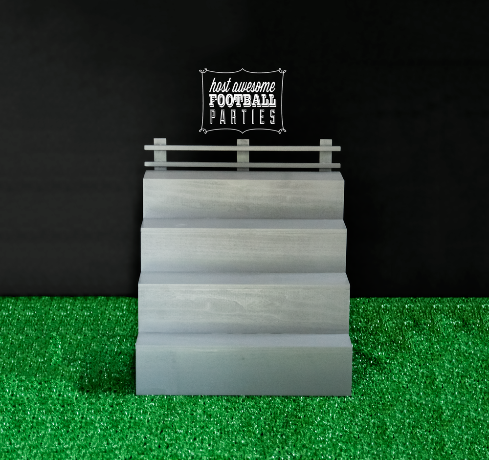 Click to purchase this Football Bleacher Stand.
