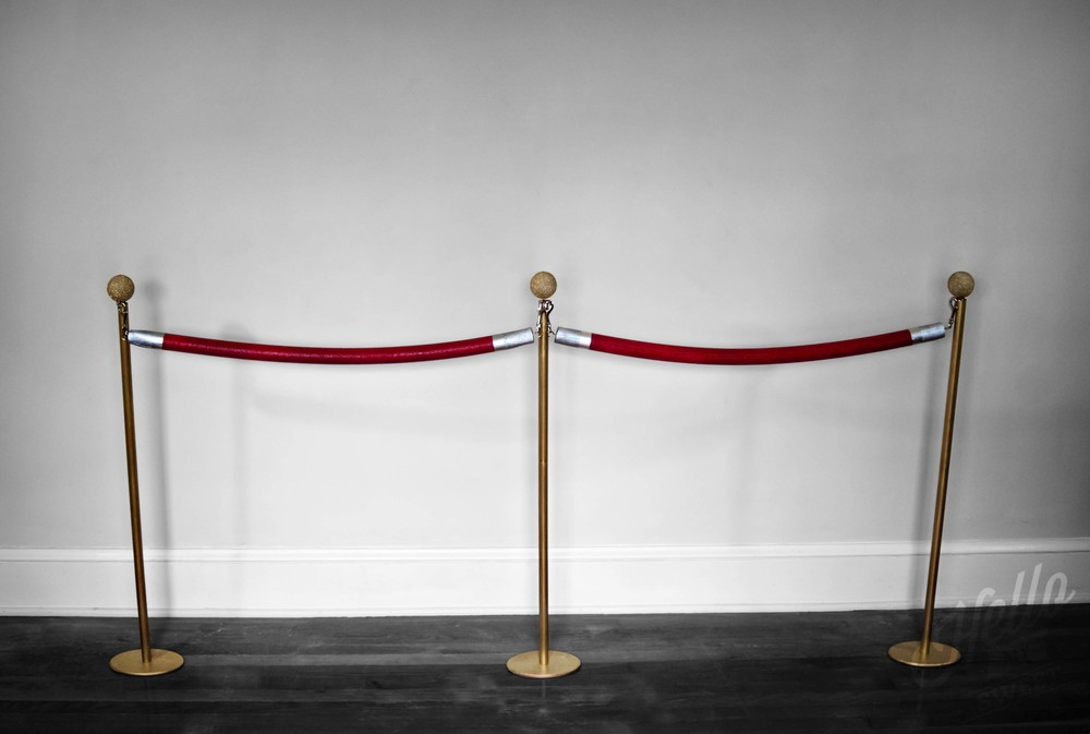 Red Carpet Rope Stanchions