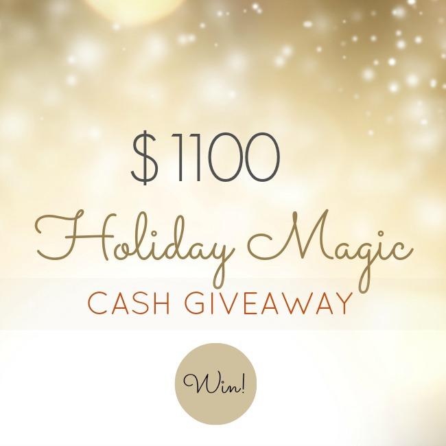 $1100 Holiday Magic Giveaway