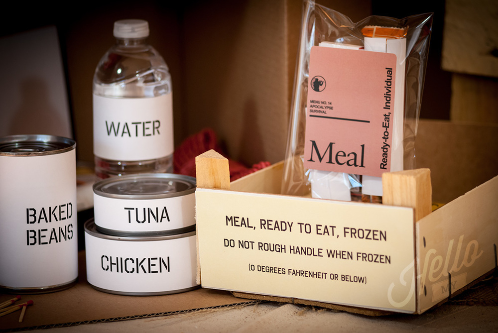 MRE Treat Bag Labels