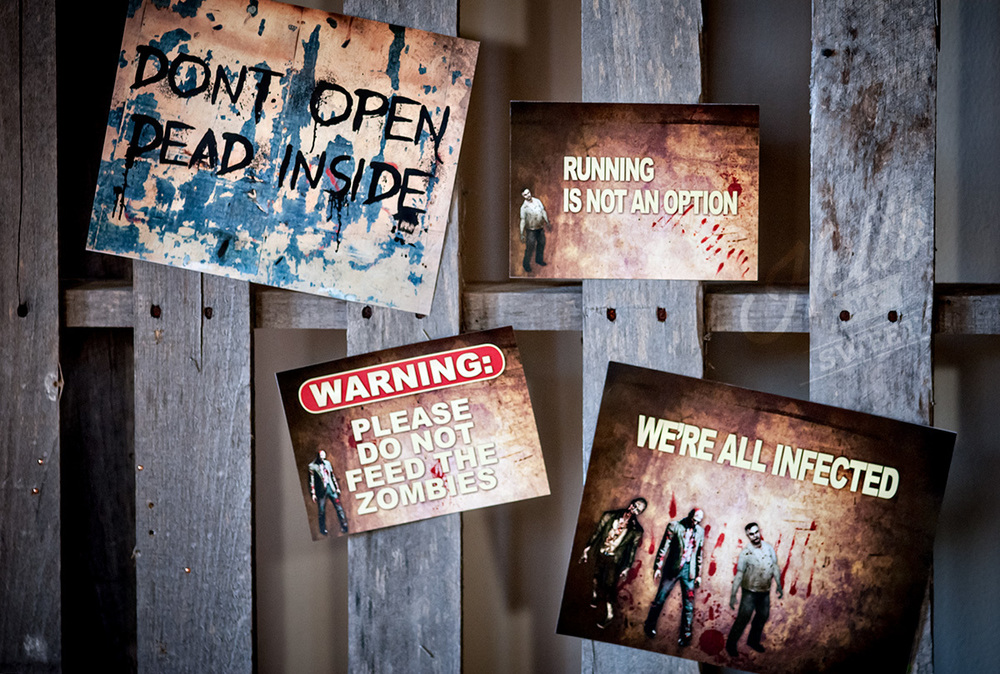 The Walking Dead inspired Birthday Dessert Table — Hello ...