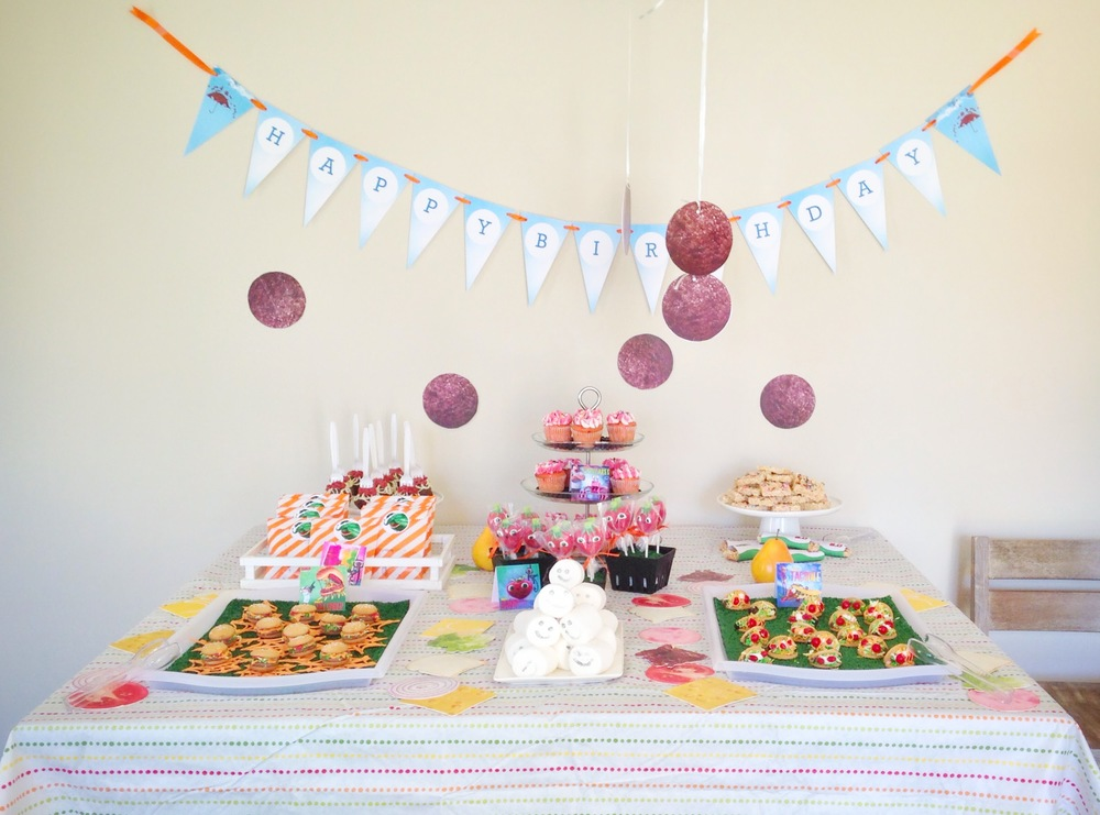 cloudy with a chance of meatballs party ideas