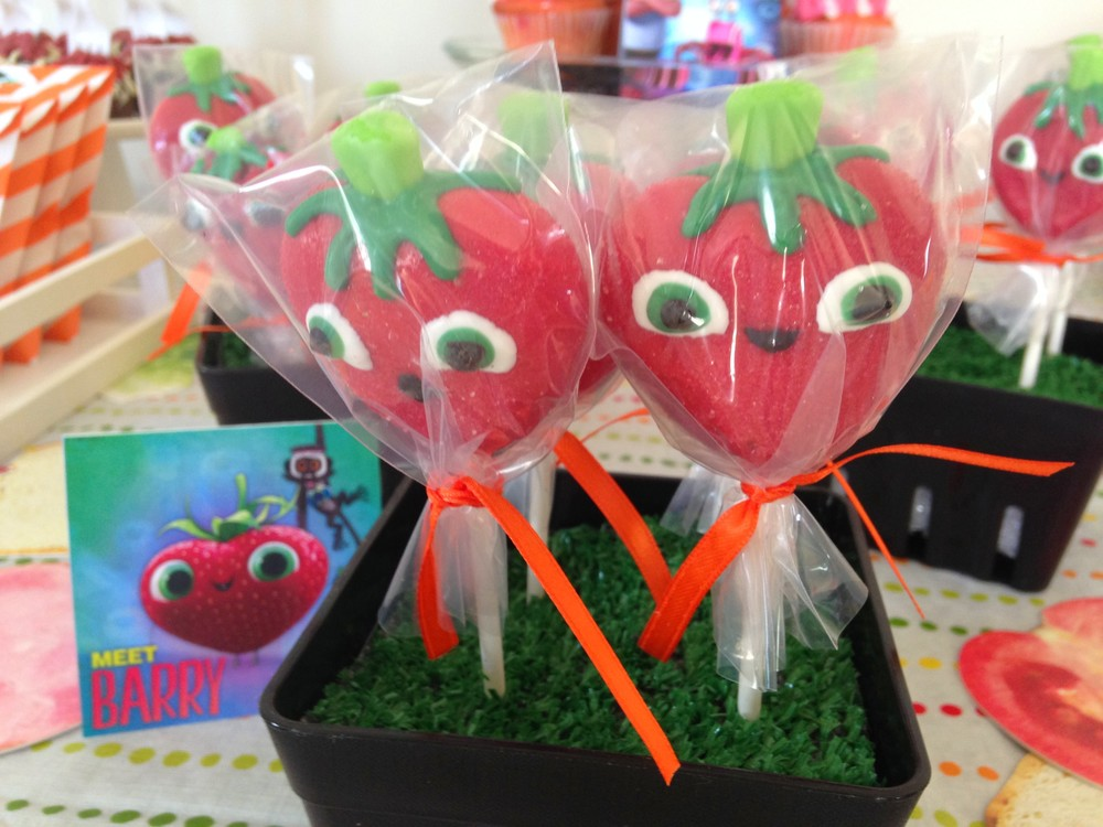 """Barry"" Cake Pops from  EZ Favors Lollipop Shop"