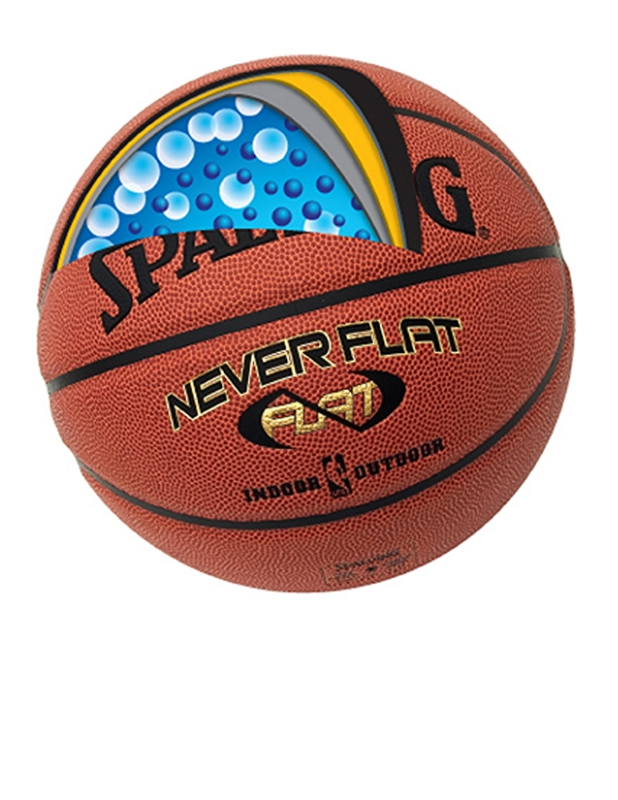 """Although the NBA season may soon be coming to a close, street ball is just gearing up thanks to the improving weather, and that means players will want to get their hands on the latest sports equipment out there, which in this case, is the Spalding Neverflat Basketball. This revolutionary basketball will ensure that you always have an inflated ball at hand when you are either heading to a game or spontaneously shooting hoops"" see here  trendhunter"