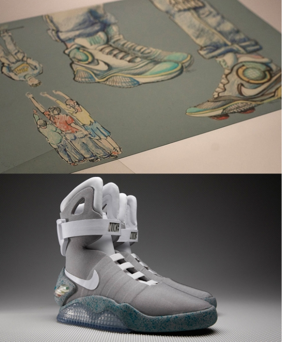 There are sneaker releases, and then there was the Nike MAG launch in 2011. Without as much as a hint, Nike produced Marty McFly's fictional high-top from Back to the Future II and auctioned off 1,500 pairs on eBay, with all proceeds going to the Michael J. Fox Foundation for Parkinson's Research. In the end, sneaker fans, film aficionados and celebrities spent nearly $6 million to claim a piece of history. However, as transcendent as the launch was, something was missing. When McFly wore his pair in the movie, they were equipped with power laces. While Nike went above and beyond to put the release together, they weren't quite ready for the futuristic lacing system. But why should they have been? MAGs technically weren't a reality until 2015, which is now less than a year away. Read more: solecollector