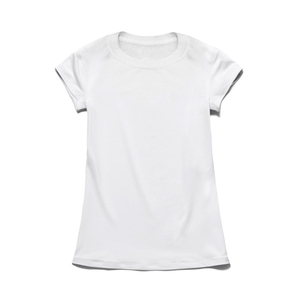 LADIES' TEE FITTED 100% PRESHRUNK COTTON Size Chart
