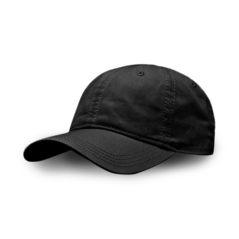 TWILL CAP 100% UNSTRUCTURED COTTON / 6 PANEL ONE SIZE FITS MOST