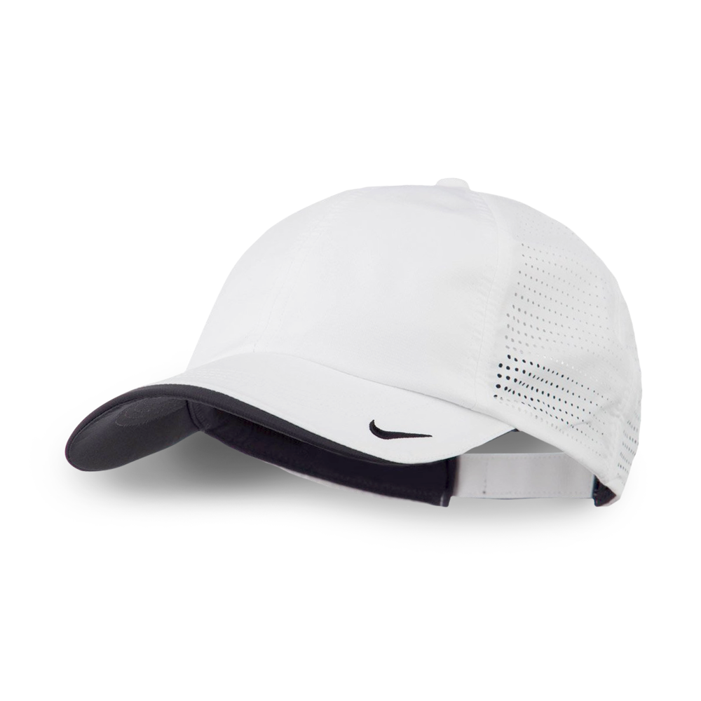 NIKE PERFORMANCE CAP    LIGHTWEIGHT & FLEXIBLE    100% POLYESTER