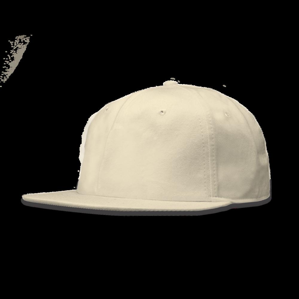 SNAPBACK CAP FLATBILL CAP WITH SNAPBACK CLOSURE 80% ACRYLIC / 20% WOOL
