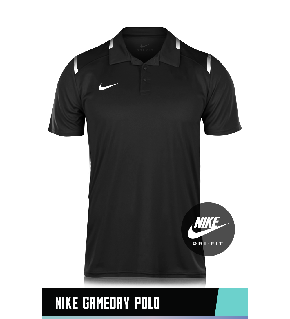 NIKE GAME DAY POLO 100% POLYESTER SIZE CHART