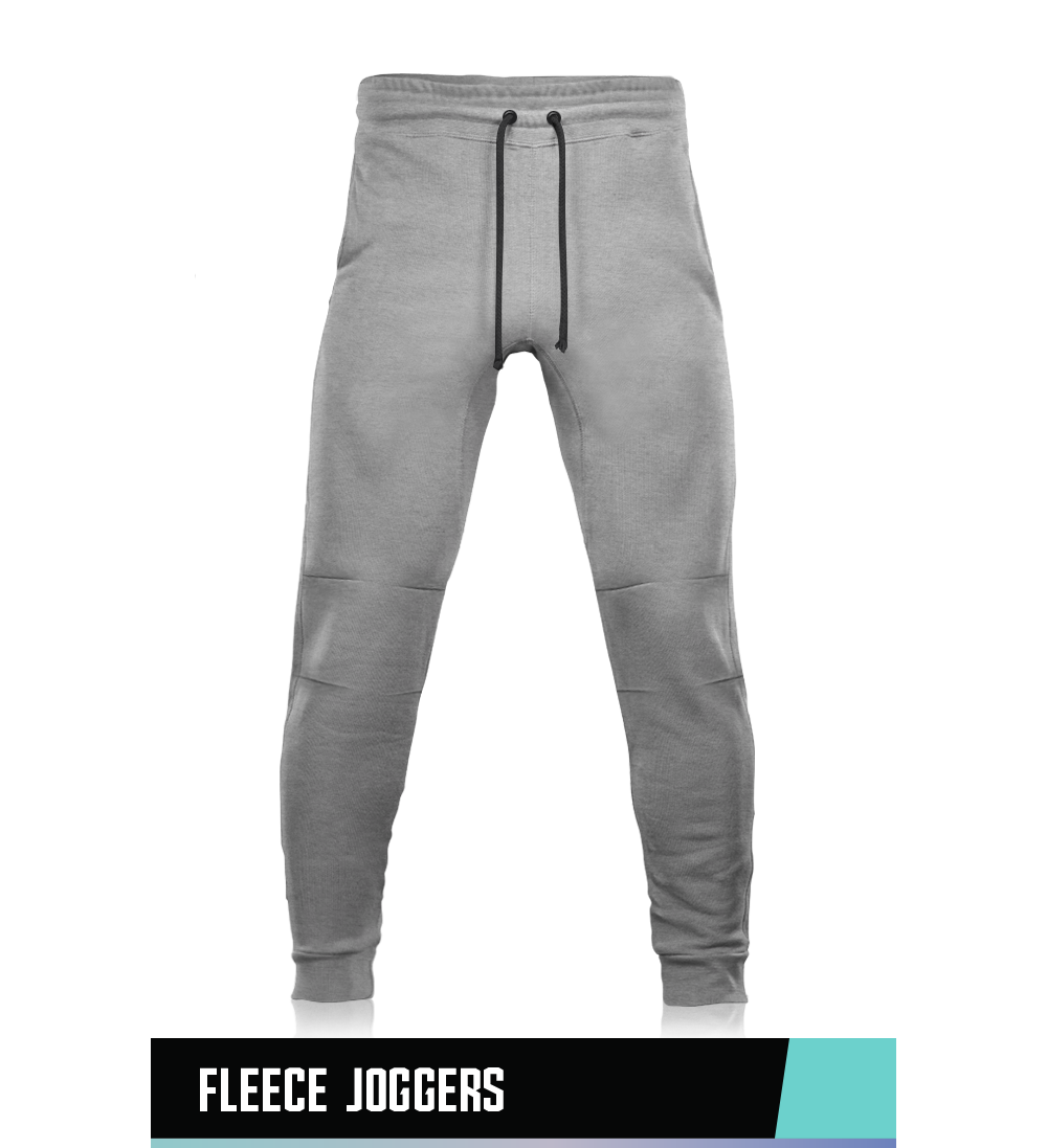 FLEECE JOGGERS  70% COTTON 30% POLYESTER  SIZE CHART