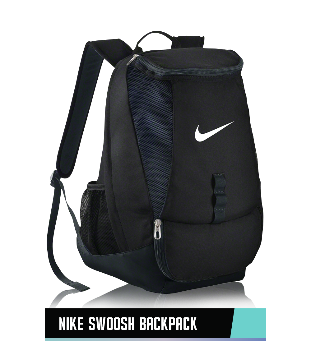 "NIKE SWOOSH BACKPACK 11"" x 8"" x 22"""