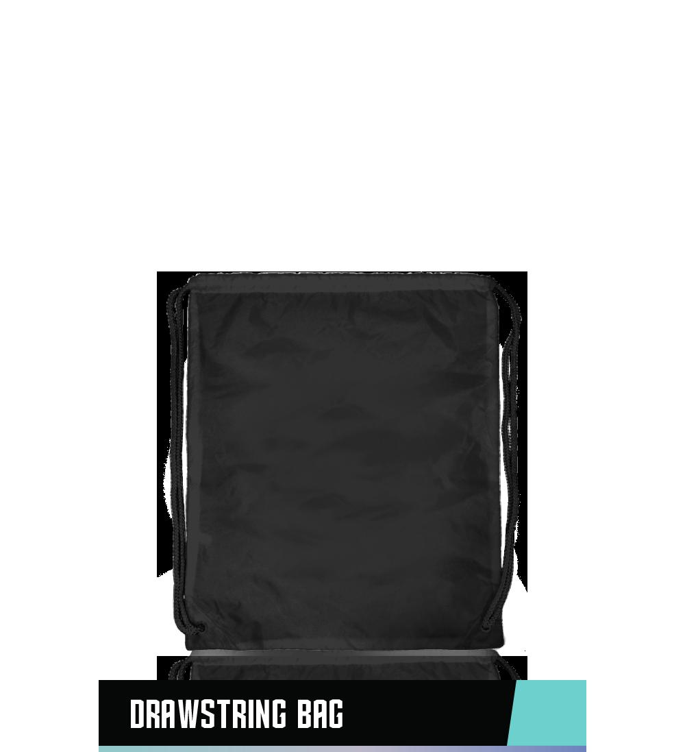 """DRAWSTRING BAG 100% NYLON 20"""" x 17"""""""