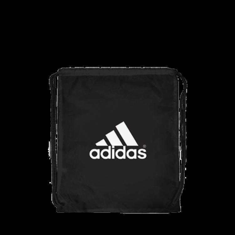 Adidas Drawstring Bag Black FanCloth Fundraiser 0ee83c79e52d6