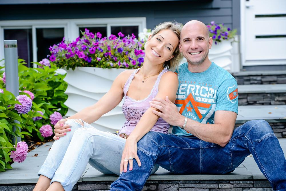 Joanna Pluszcz and Scott Petinga believe that true love and hard work can cure just about anything.
