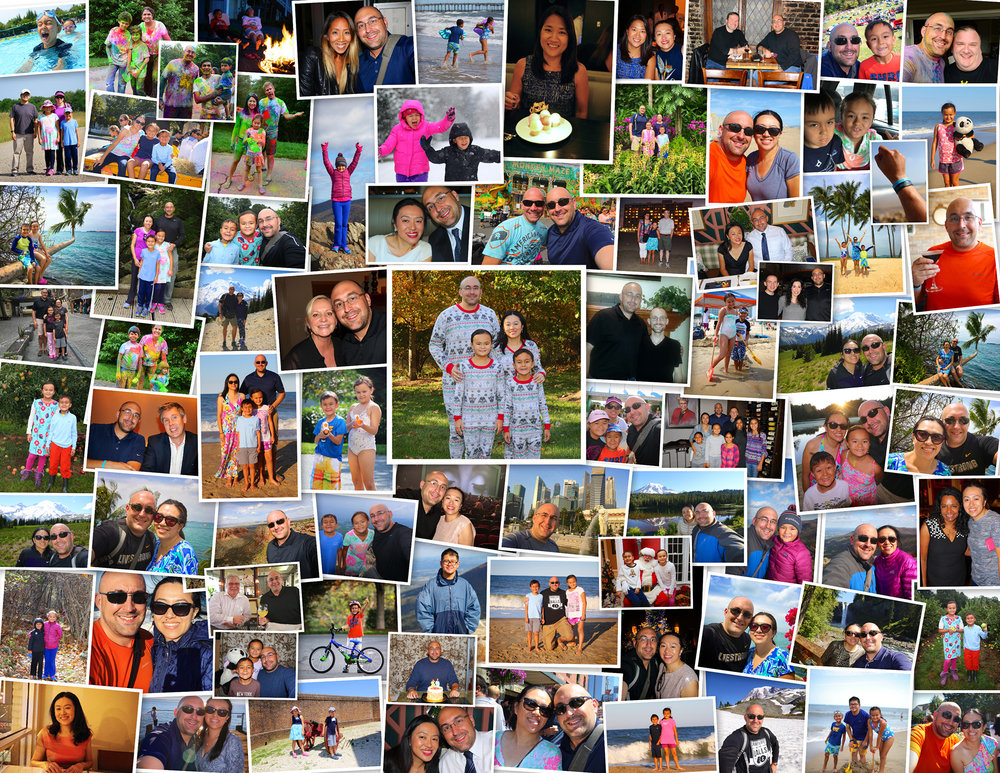 This is not a collection of our adventures over these past six years. All of these photos are from just ONE year, 2016, and we've made every single year since cancer just like this one. This is how life is meant to be LIVED! What are you waiting for? You don't need anyone's permission!