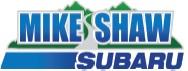 Mike Shaw Subaru Sponsor