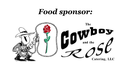 Cowboy and the Rose Tee Off for TC Sponsor