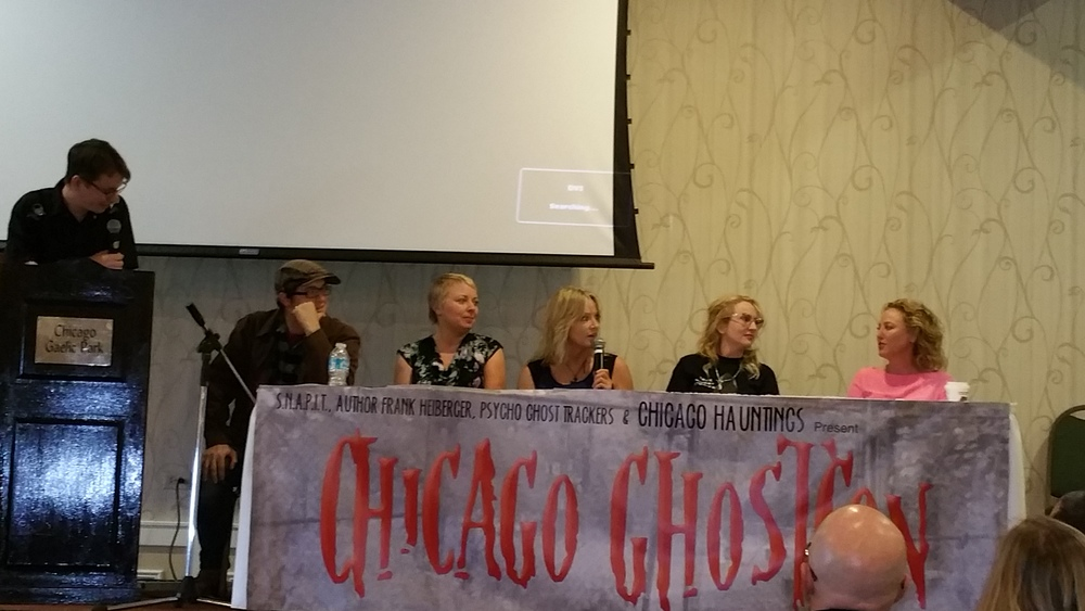 I'm honored to be part of this great panel of women: Ursula Beilski, Virginia Madsen (Candyman Movie, etc.)
