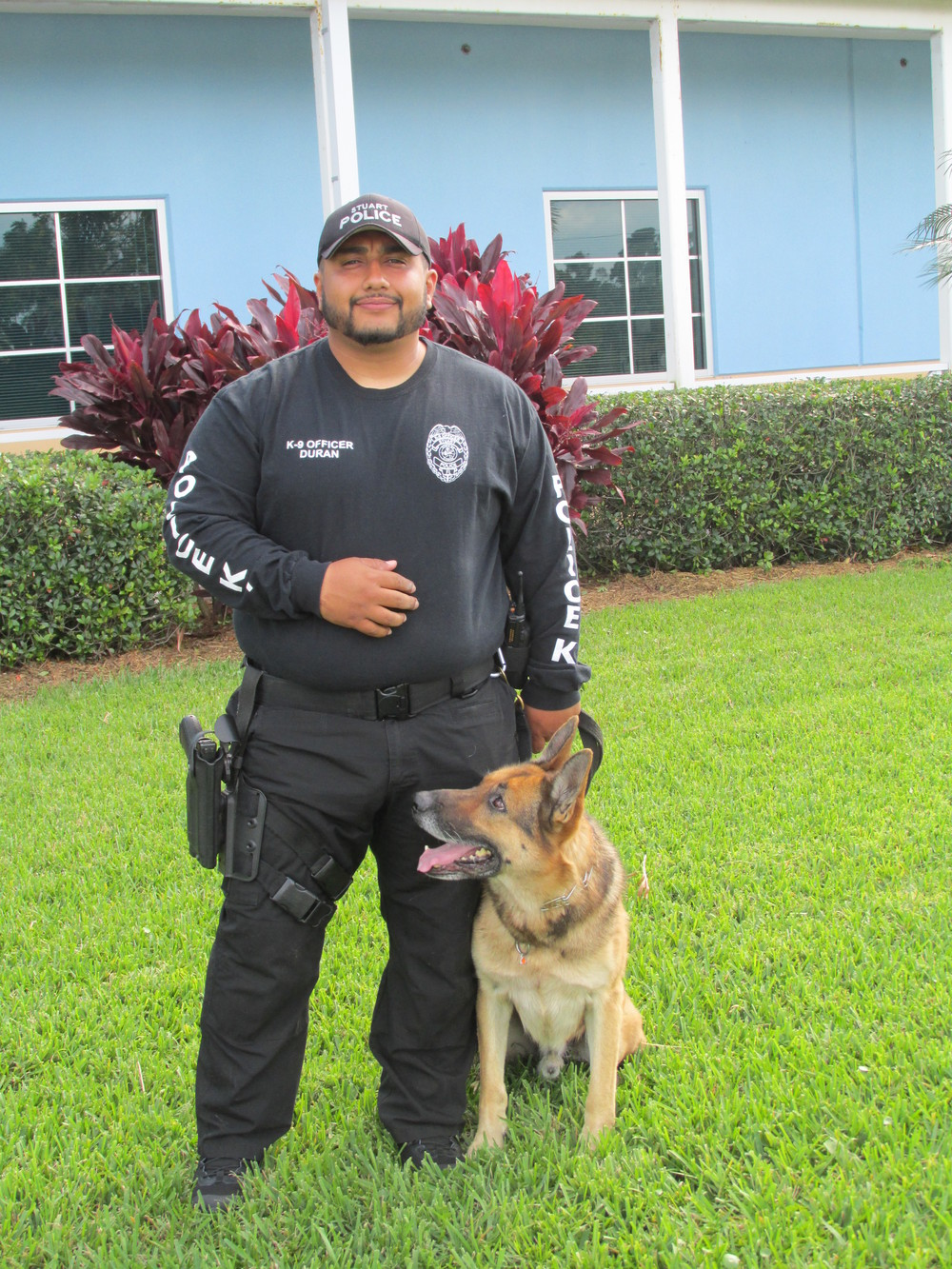Officers David Duran and Cody; Stuart, FL 3/2014