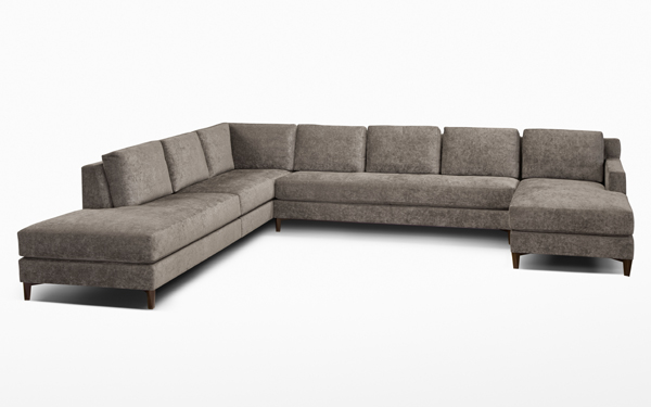 Custom Plaza Sectional