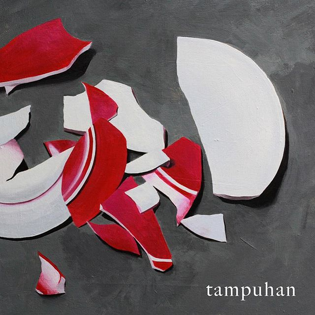 "Tampuhan in hi-res glory ✨ 12""x12"" #acrylic on canvas"
