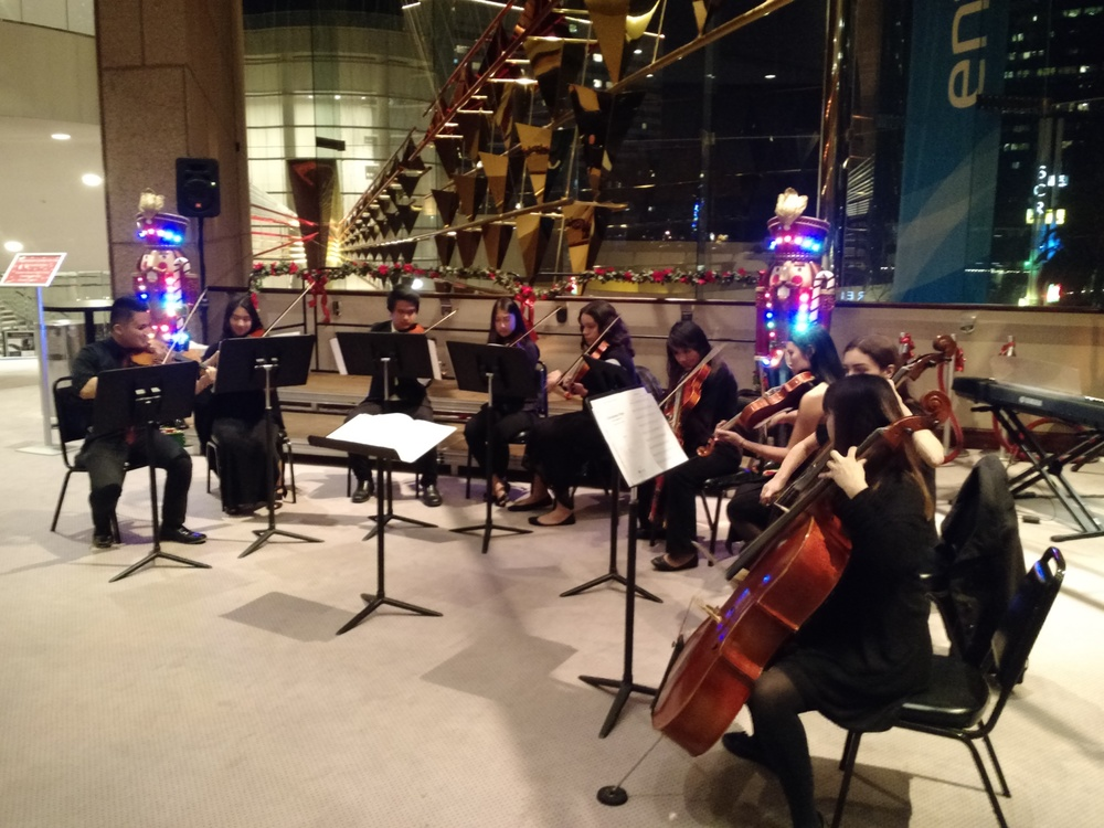 Chamber Strings Perform at Segerstrom Center for the Arts
