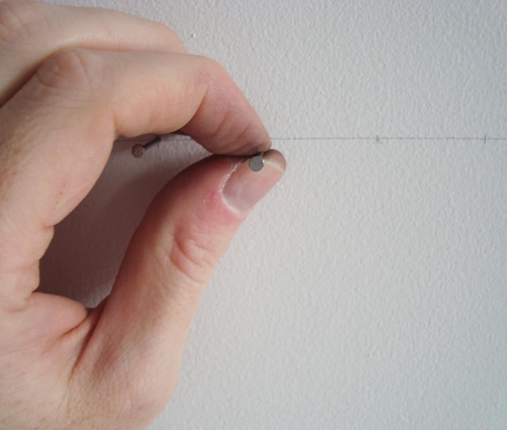 the second nail