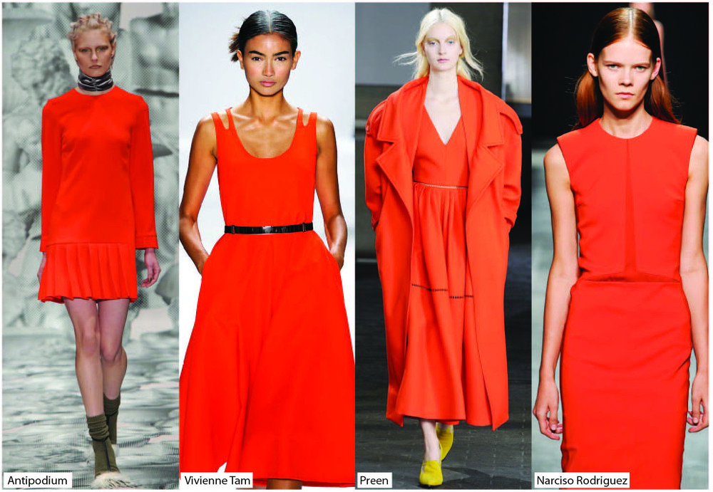 orange catwalk