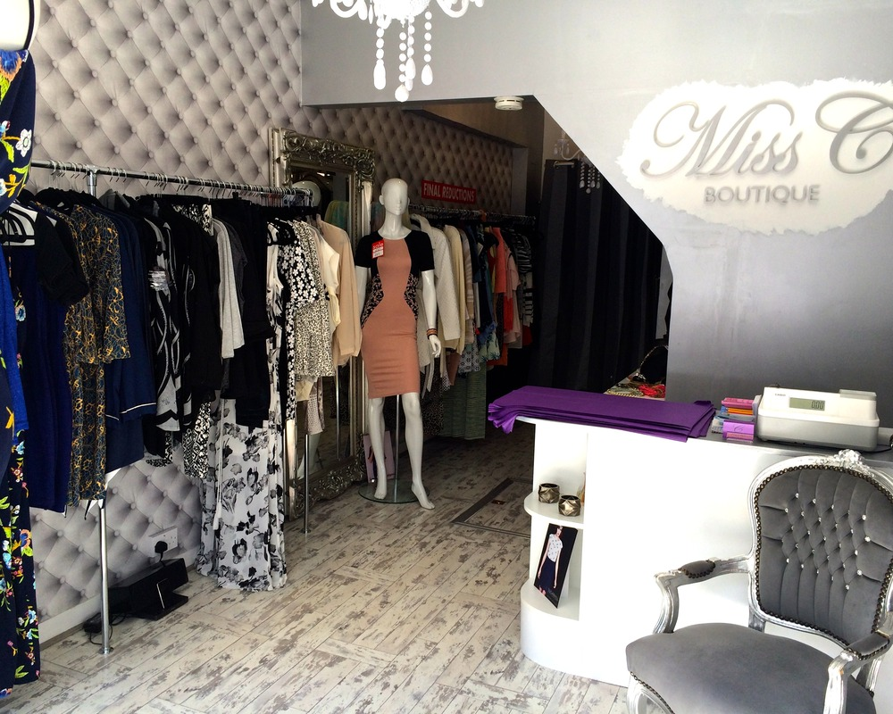 Inside the Miss C Boutique!