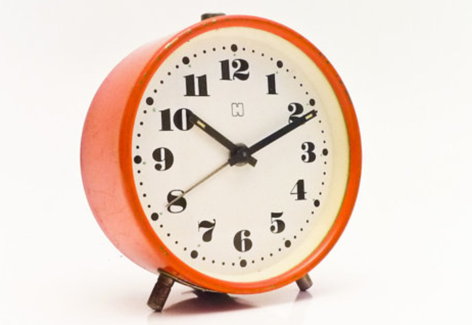 Why not treat yourself to a fab vintage alarm clock like this one we've found on  Etsy .