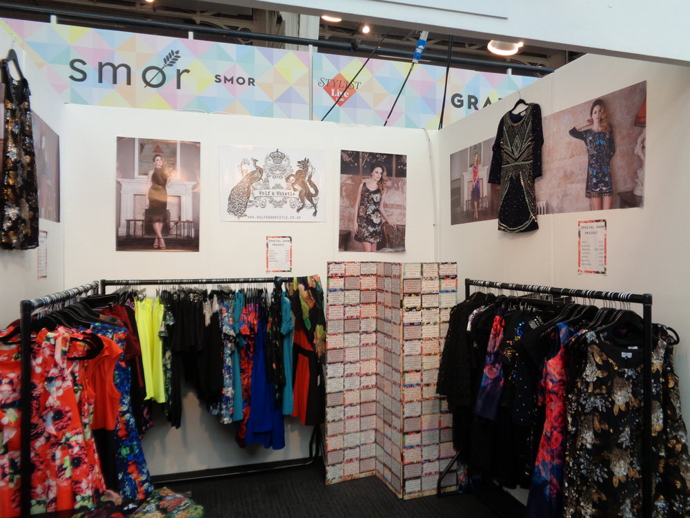 Our stand at Stylist Live... The calm before the storm!