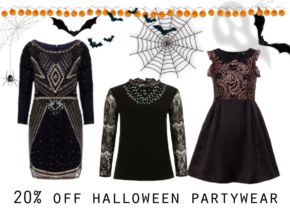 wolf & whistle halloween offer