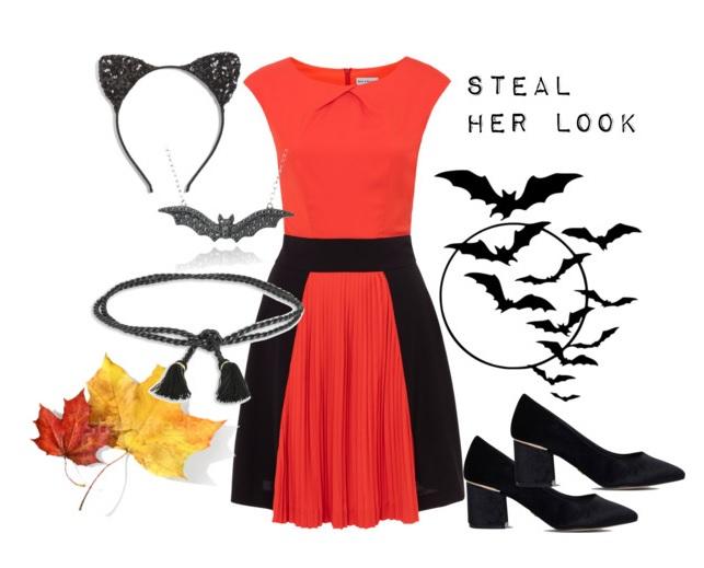Dress:  Wolf & Whistle   Shoes:  Kurt Geiger  Belt:  Athena Procopiou   Necklace:   Headband:
