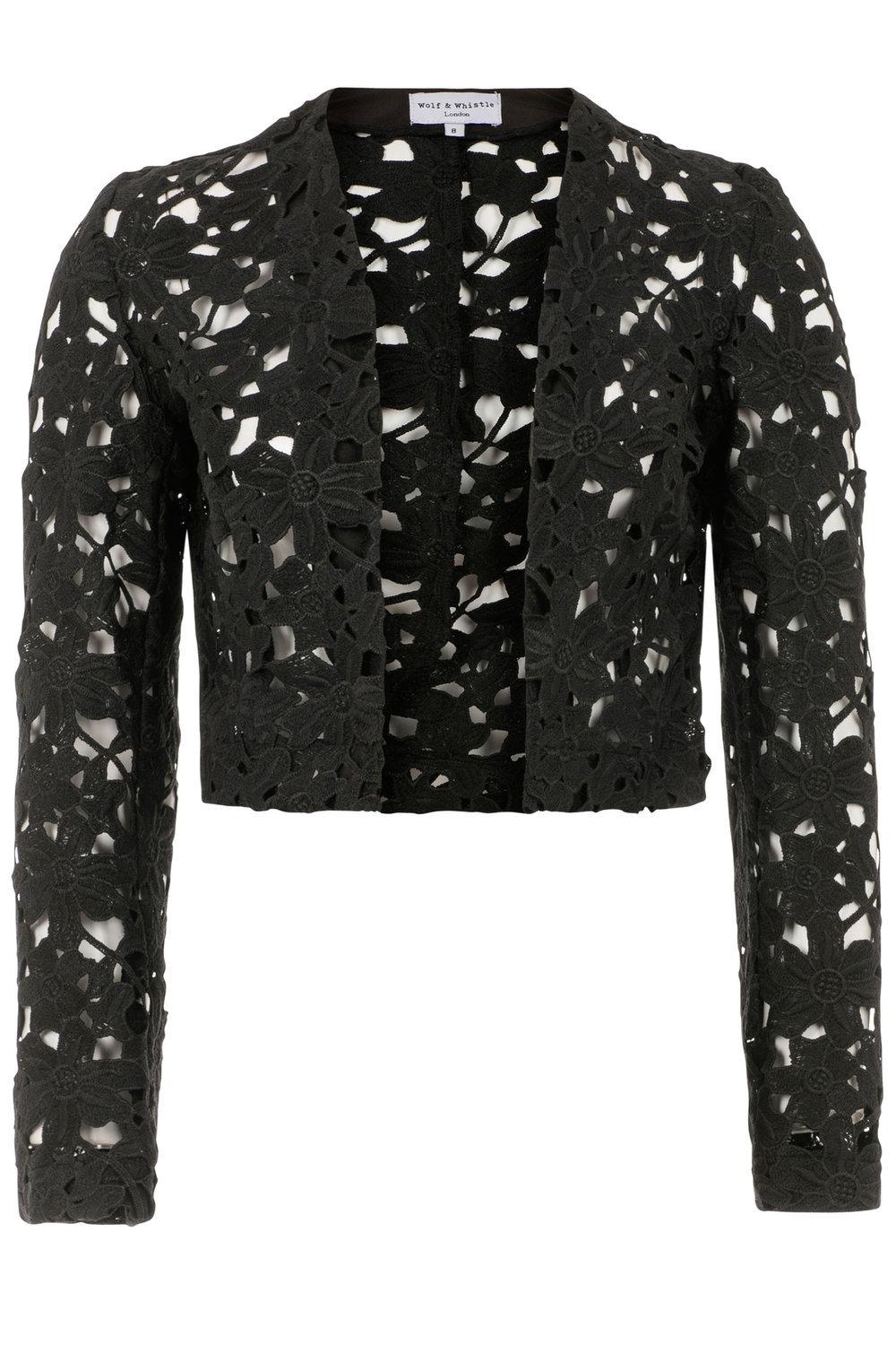 cropped lace jacket as seen on lydia bright