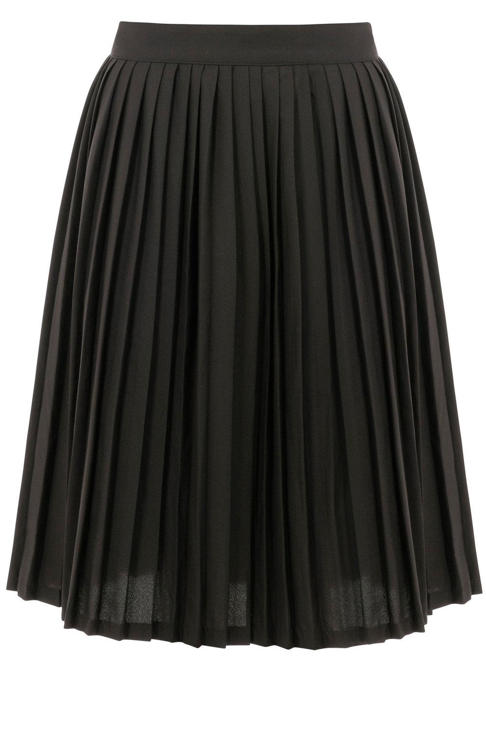 black pleated skirt as seen on lydia bright