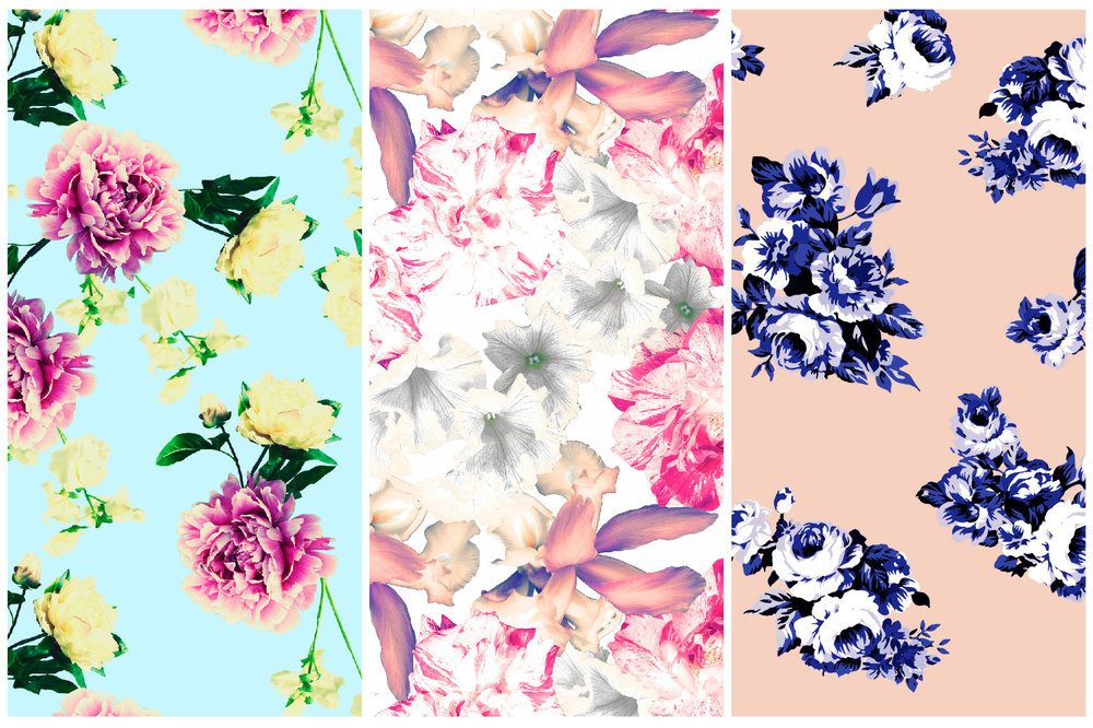 Here's a sneak peek of some prints from our Spring collection, launching in February!