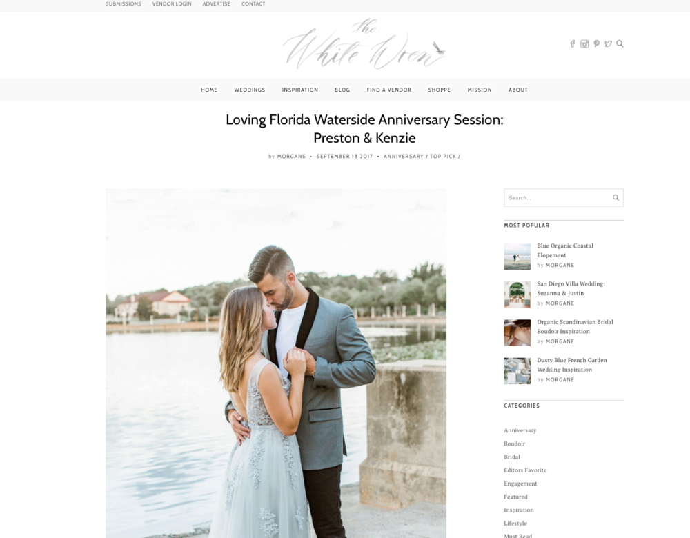 loving florida waterside anniversary session film photography fuji 400h kenzie packrall  ashley holstein photography