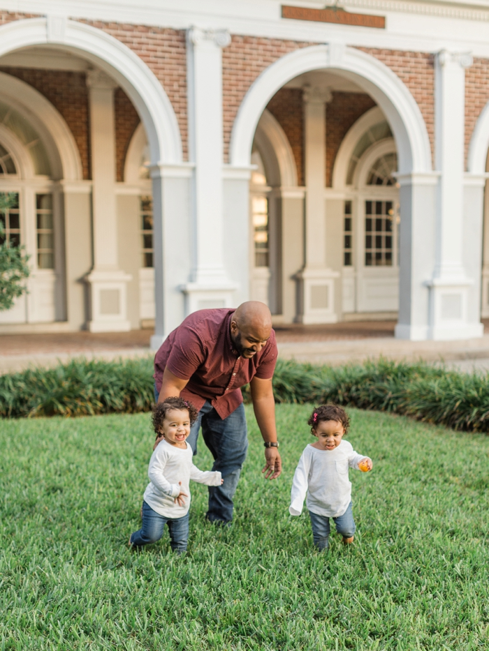 Florida Family Session Southern College Lakeland, FL - twin girls - Light & Airy photography | Ashley Holstein