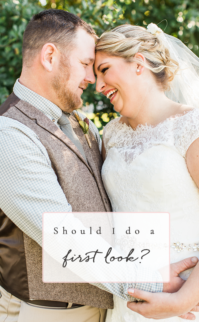 Should I do A First look? | Ashley Holstein Photography | FL + Destination Wedding Photographer