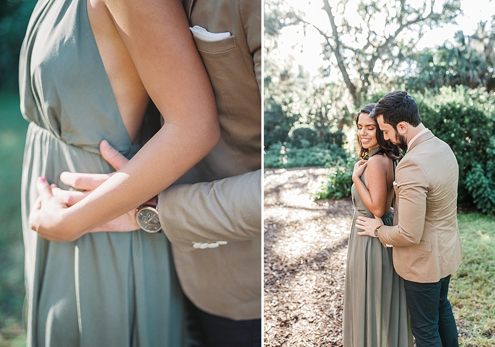 Janiece + Chris | The Sweetest Bok Tower Gardens Engagement Session | Ashley Holstein Fine Art Photographer