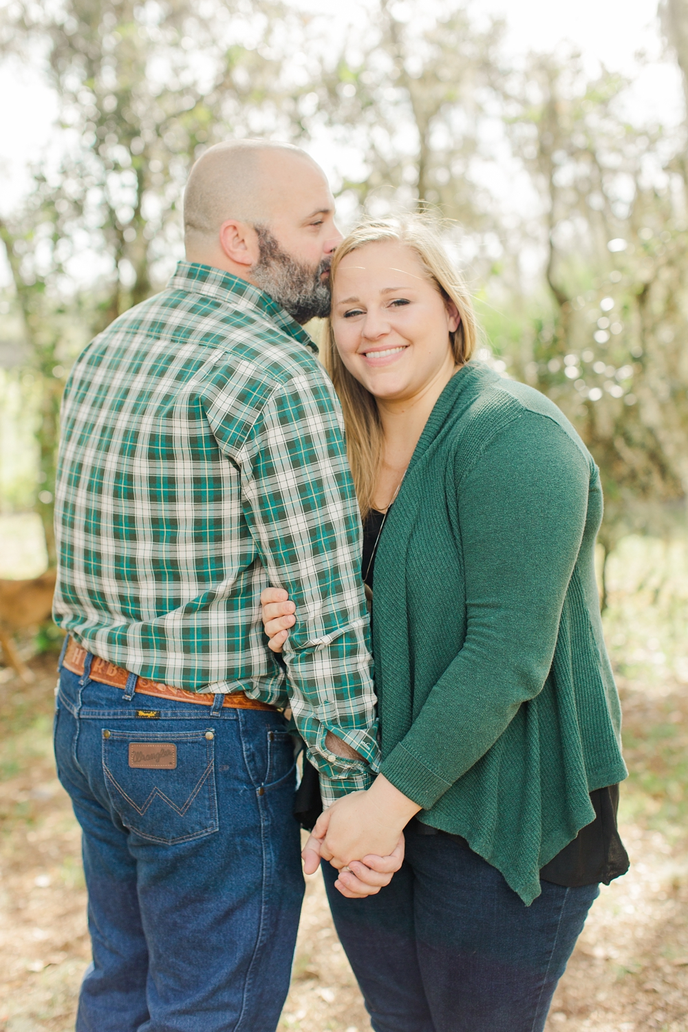 Ashley Holstein Photography | Wauchula Florida Family Session | Film Photographer Mom Dad Together Lifestyle