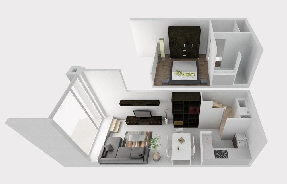 Rendu pour Dwek Architecture & Partners