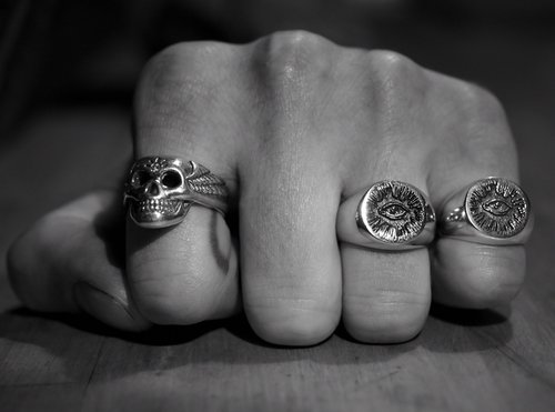 Ring Designers Nyc | The Hunt Nyc Small Signet Ring The Hunt Nyc