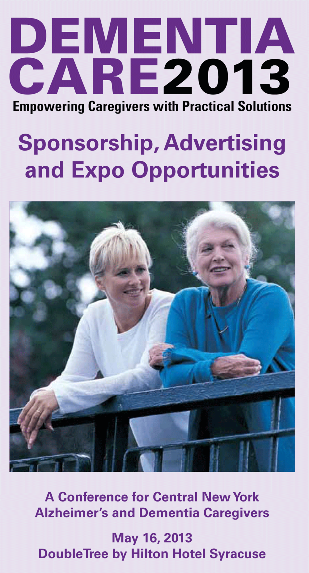 DEMENTIACARE2013 Sponsorship Brochure