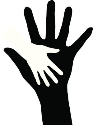 Hilfsbereitschaft Symbol