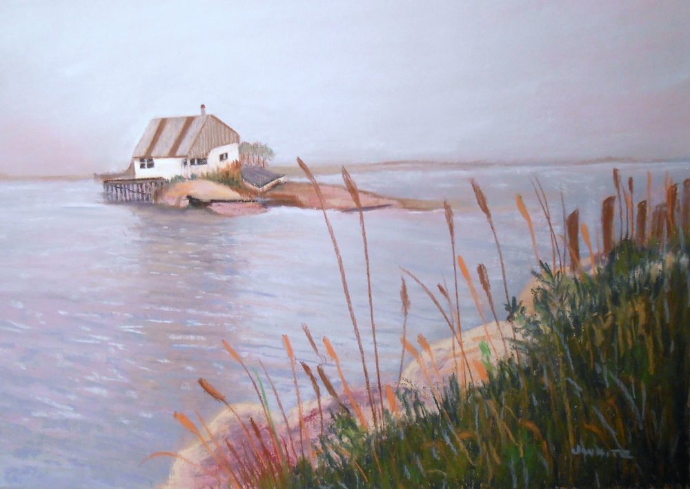 Lobsterman's Shack  — Pastel: $400