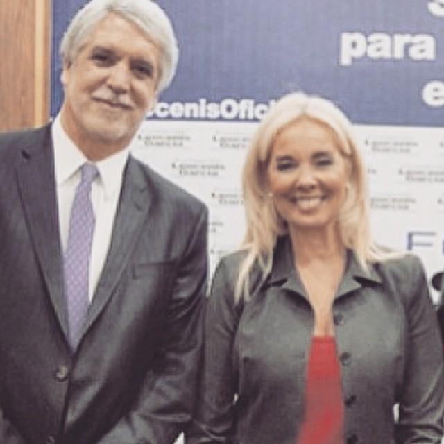 Junto al Ex Alcalde de #Bogotá Enrique Peñalosa compartiendo visiones sobre ciudades exitosas del mundo y su experiencia sobre Bogotá