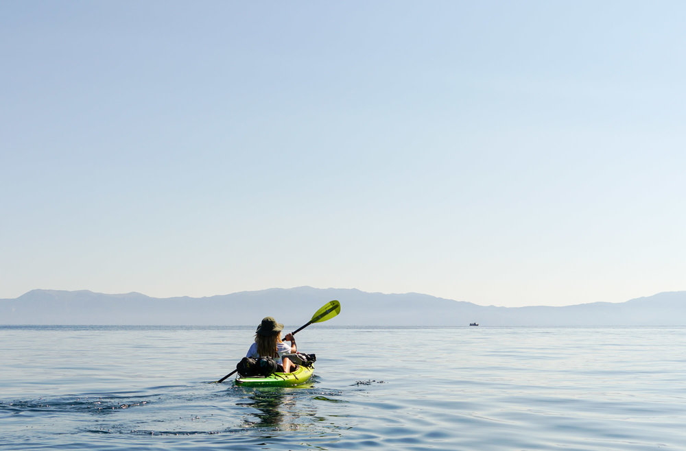 Kayak Lake Tahoe